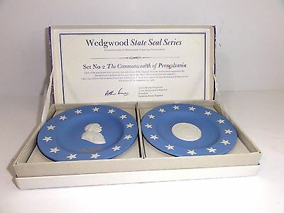 Wedgwood State Seal Series - The Commonwealth of Pennsylvania (Set 2 early 70's)