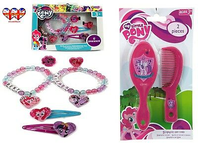 My Little Pony Hair Accessories,Hairbrush comb Set Official Licensed