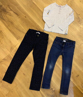 Jeans And Top Bundle Girls Age 7 Next