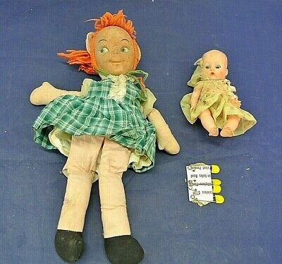Vintage Dolls, Lot Of Two