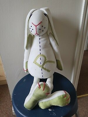 """Sitting Rabbit approx 12inch """"not a toy"""""""