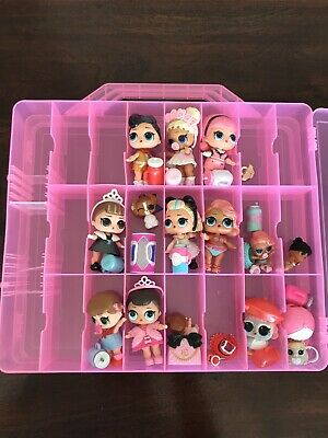 LOL Surprise Doll Lot Big / Lil Sis Pets Clothing and Carrying case
