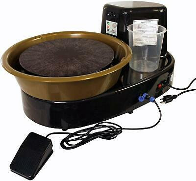 U.S. Art Supply 3/4-HP Table Top Pottery Wheel with LCD Wheel Speed Display