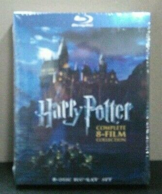 Harry Potter: Complete 8-Film Collection   (Blu-ray w/Slipcover)    BRAND NEW