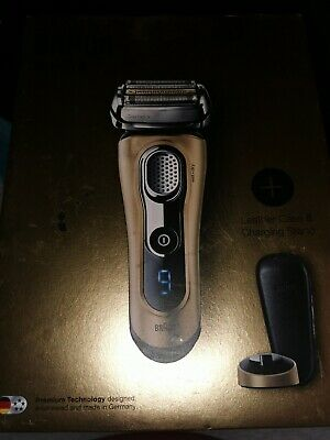 Braun Series 9 9299s Gold Edition Electric Razor, Wet and Dry