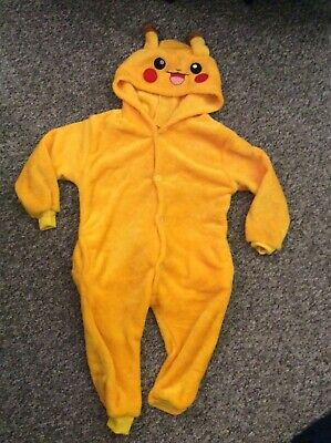 pokemon pikachu one piece bodysuit PJs age 2-4 years girls boys