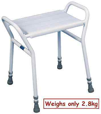 Aidapt Heavy Duty Shower Seat Chair Stool Adjustable Height Mobility Disability