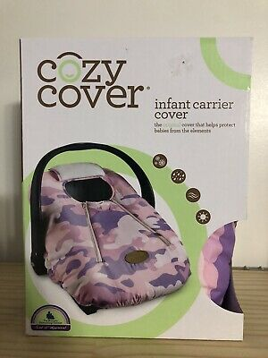 Cozy Cover Infant Carrier Cover Pink Camo WEATHERPROOF BRAND NEW IN BOX