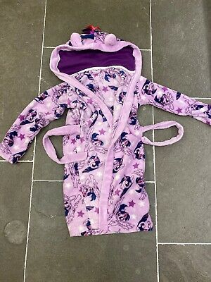 Tu Age 7-8 Girls My Little Pony Dressing Gown Pink