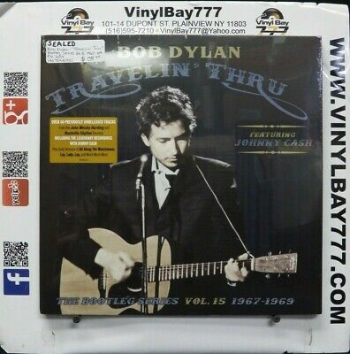 "Sealed 12"" 3xLP Box Bob Dylan Travelin' Thru 2019 Columbia Import 19075981921"