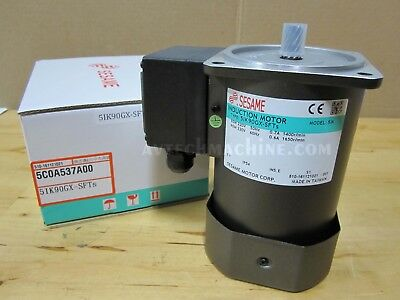 Sesame Induction Motor With Electric Box & Fan 5IK90GX-SFTS 3 Phase 220V