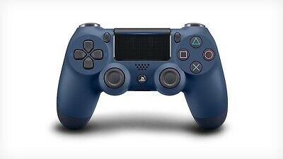 Genuine Official Sony DualShock 4 V2 Playstation 4 PS4 Controller Midnight Blue