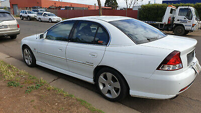 Holden Vy Calais 6Cyl Sedan White 08/2003 With R.w.c & Reg