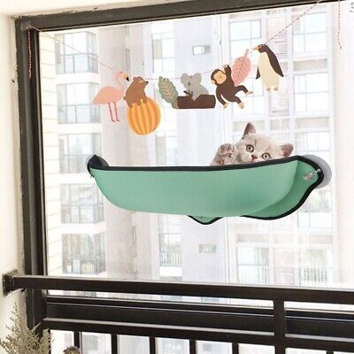 Cat Window Sunshine Hammock Perch Bed Shelf Seat Mounted Hold Up To 13Kg