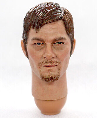 Figure Club 1//6 The Walking Dead Daryl Dixon Head sculpt  Planted Hair Model CN