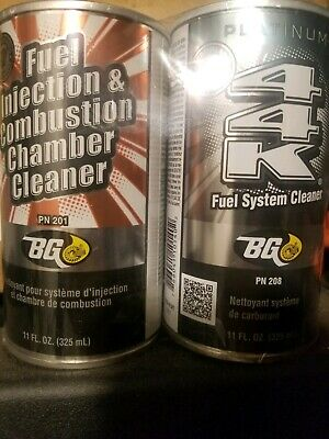 BG 44k Fuel System Cleaner with Fuel Injection & Combustion Chamber Cleaner kit