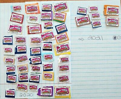 50 +  Box Tops for Education Trimmed BTFE NO EXPIRED 2020 to 2021