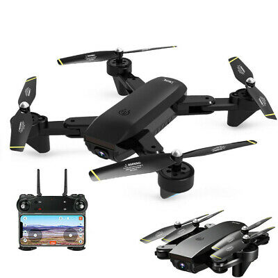 2.4G RC Headless Quadcopter Drone with HD Camera Christmas Gift Toy For Kids