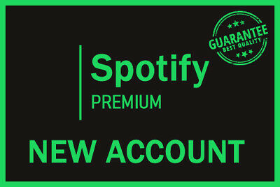 Spotify Premium 12 Month New acc Instant Delivery Private Account Warranty