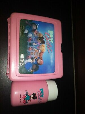 Vintage My Child Lunchbox 1986 Mattel Complete with Original Thermos