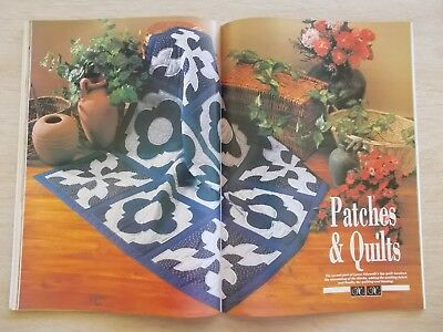 Needlework~June 1993~Cross Stitch~Embroidery~Patchwork~Needlepoint~Lace~Bead