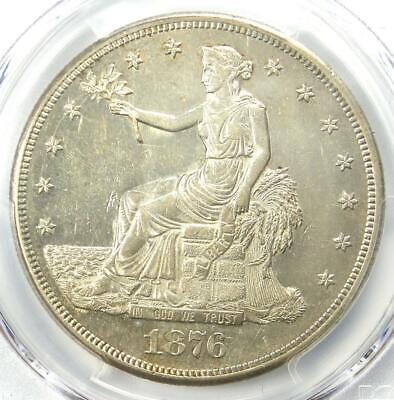 1876-CC Trade Silver Dollar T$1 Carson City Coin - PCGS AU58 - $3,250 Value!