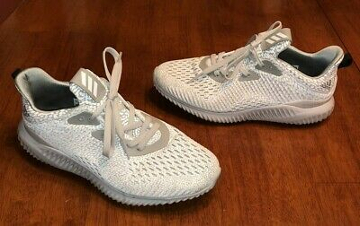 Adidas Alphabounce Beyond Running Shoes Men's Size 7 Grey White