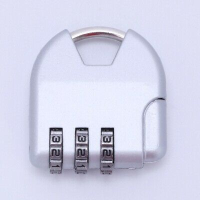 Combination e Travel Suitcase Luggage Padlock Password Lock Zinc Alloy Secu