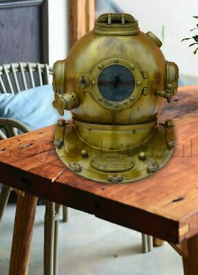 Mark V Diving Divers Helmet Reproduction Antique Handmade U.S Navy Collectible
