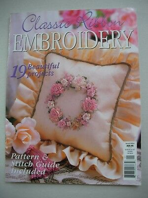 Classic Ribbon Embroidery - Pattern Magazine