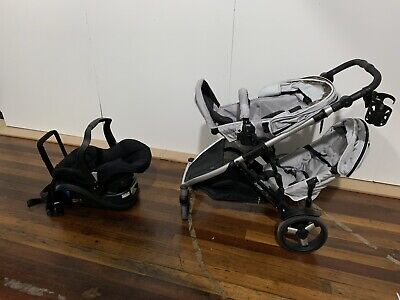 Steelcraft Strider Plus Duo with Car Capsule and Accessories