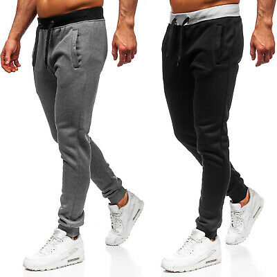 Trainingshose Jogginghose Hose Sporthose Fitness Slim Fit Herren BOLF 6F6 Basic