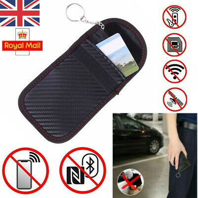 Car Key Signal Blocker Pouch Case FOB Faraday Bag RFID Security Blocking Kit UK