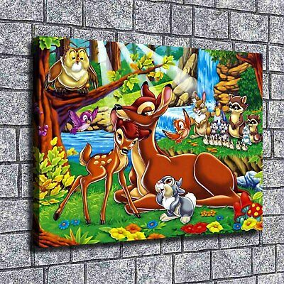 """12""""x16""""Disney Cartoon Paintings HD Print on Canvas Home Decor Wall Art Pictures"""