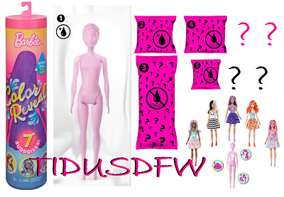 New 2019 Barbie Color Reveal Surprise Doll (Styles May Vary) IN HAND Fast Ship!