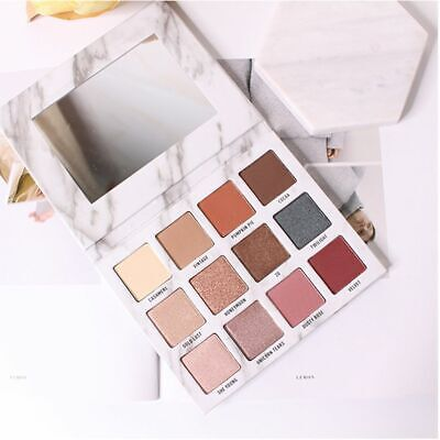 Charming Marble Eyeshadow Palette Eye Makeup Pearl Shimmer Mineral Pigment