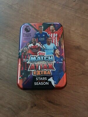 Topps Match Attax Extra Premier League Season 2018/2019 Trading Card Mega Tin