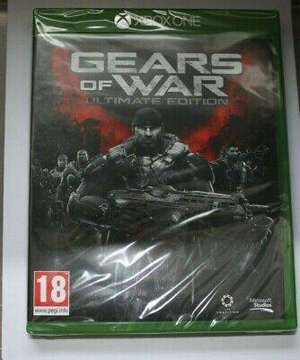 Gears of War Ultimate Edition XBOX ONE new and sealed