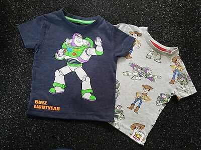 Next Baby Boys Toy Story Tshirts(×2), 3-6 Months ,New Without Tags