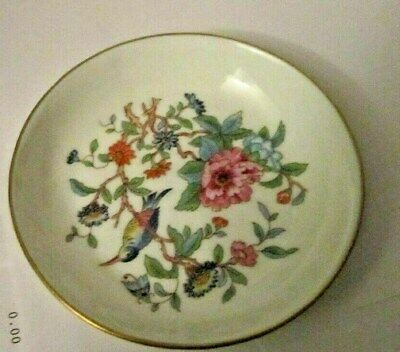 """Vintage """"AYNSLEY"""" Small Round approx. 4 1/2"""" Trinket Dish - PEMBROKE- England"""