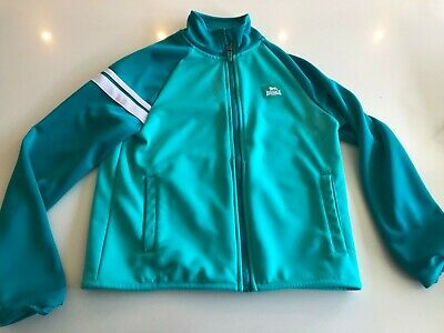 Girls aqua Lonsdale tracksuit top 11-12 years