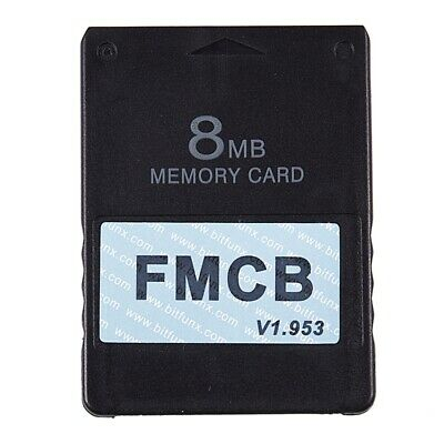 FMCB Free McBoot Card V1.953 for Sony PS2 Playstation2 Memory Card OPL MC B X9W9