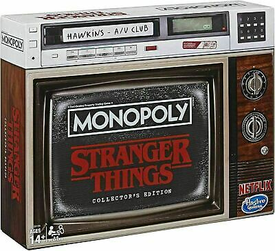 Stranger Things Monopoly Game Collector's Edition Board Game by Hasbro Netflix
