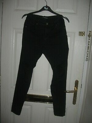 Skinny Ripped girl's Jean's from miss e.vie black age 14 year's hight 164 cm