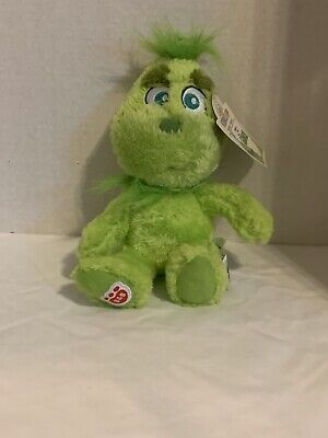 Build A Bear Baby Mini GRINCH Who Stole Christmas Plush SOLD OUT