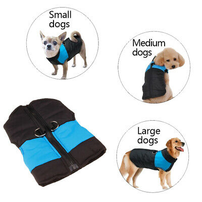 Winter Dog Clothes Small Large Big Dogs Waterproof Pet Coats Vest Jacket Beamy