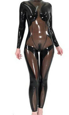 Latex Anzug Rubber Tights Catsuit Gummi Ganzanzug Latexanzug Party Suit