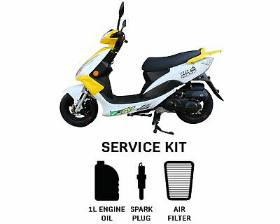 Genuine WK White Knuckle Bikes TTR 50cc Service Kit OEM