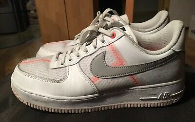 NIKE AIR FORCE 1 lv8 Gr.42 White atmosphere Grey off Noir