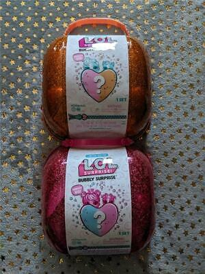 Bubbly Surprise Orange / Pink LOL Surprise Limited Edition Sealed Sister Glitter